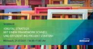 »Digital Strategy: Mit einem Framework schnell und effizient ins Projekt starten« [Webinar]