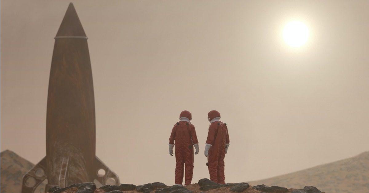 Weltraumtourismus und Leben im Mond-Orbit [Netzfund]