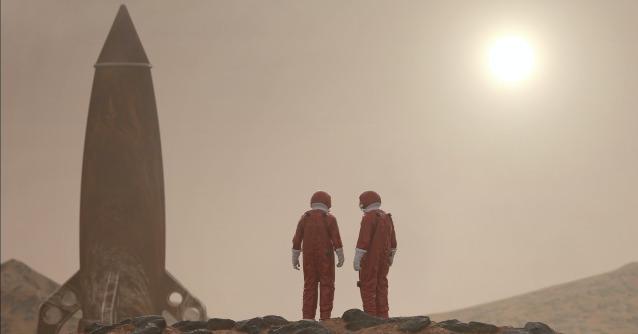 Weltraumtourismus und Leben auf dem Mond