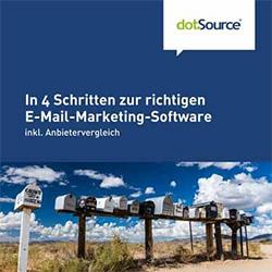 In 4 Schritten zur richtigen E-Mail-Marketing-Software Whitepaper