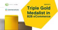 Gold für commercetools: Der dotSource Partner ist B2B Commerce Champion 2021