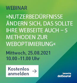 Webinar Weboptimierung UXD