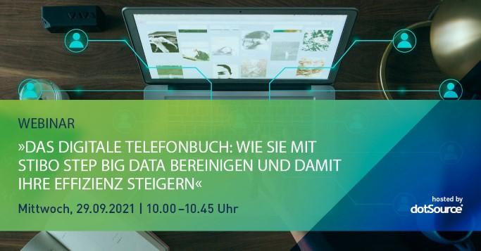 Das digitale Telefonbuch: Big Data bereinigen und Effizienz steigern mit Stibo STEP [Webinar]